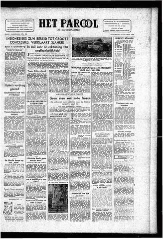 Rotterdamsch Parool / De Schiedammer 1946-10-10