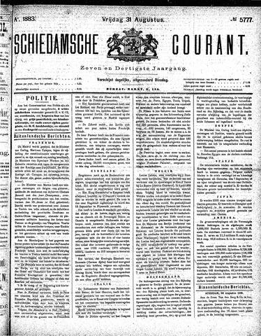Schiedamsche Courant 1883-08-31