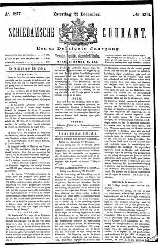 Schiedamsche Courant 1877-12-22