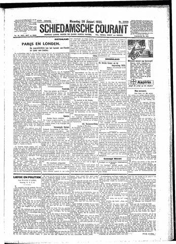 Schiedamsche Courant 1935-01-28