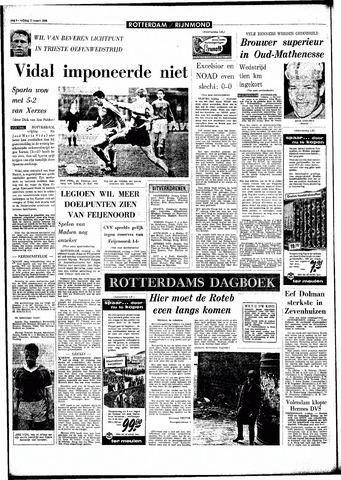 Rotterdamsch Parool / De Schiedammer 1966-03-11