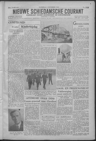 Nieuwe Schiedamsche Courant 1946-11-09