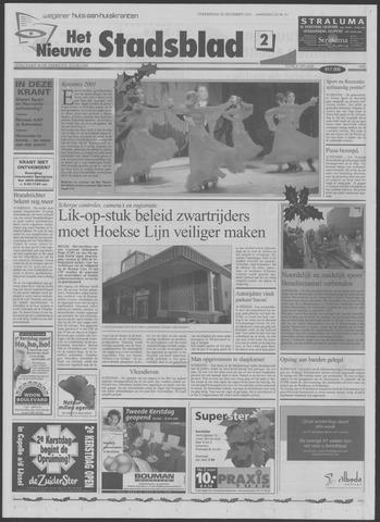 Het Nieuwe Stadsblad 2001-12-20