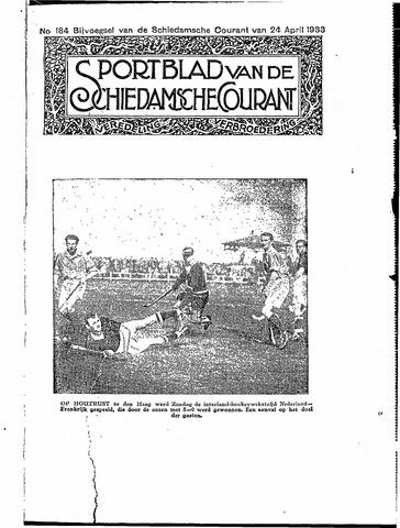 Schiedamsche Courant 1933-04-24