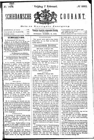 Schiedamsche Courant 1879-02-07