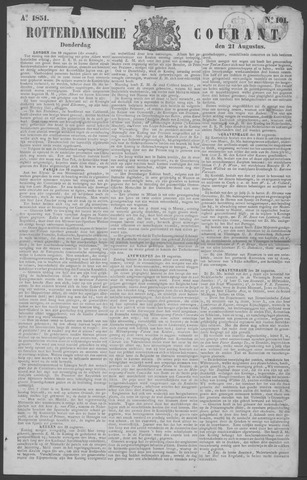 Rotterdamse Courant 1851-08-21