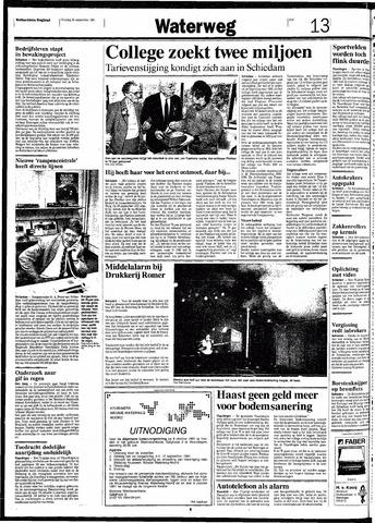 Rotterdamsch Nieuwsblad / Schiedamsche Courant / Rotterdams Dagblad / Waterweg / Algemeen Dagblad 1991-09-24