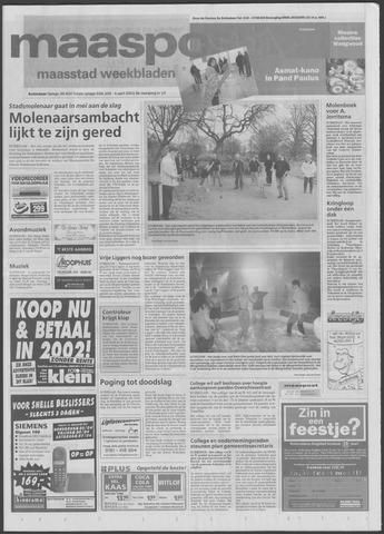 Maaspost / Maasstad / Maasstad Pers 2001-04-04