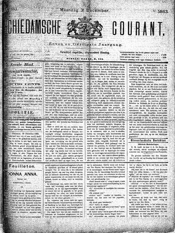 Schiedamsche Courant 1883-12-31