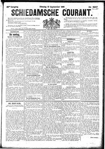 Schiedamsche Courant 1916-09-19