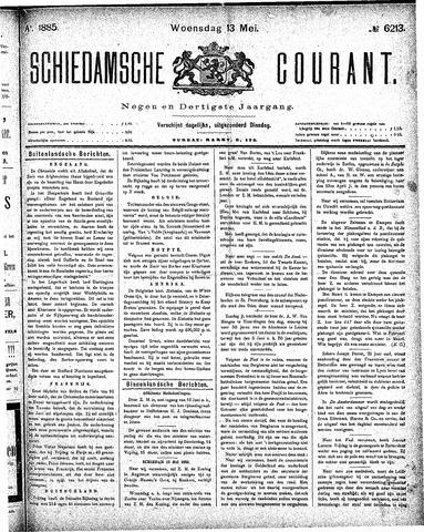 Schiedamsche Courant 1885-05-13