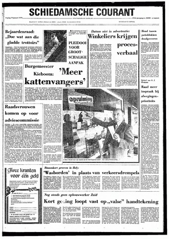 Rotterdamsch Nieuwsblad / Schiedamsche Courant / Rotterdams Dagblad / Waterweg / Algemeen Dagblad 1979-01-19