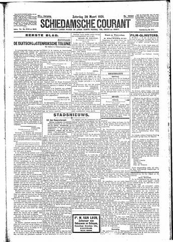 Schiedamsche Courant 1931-03-28