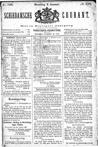 Schiedamsche Courant 1879-01-06
