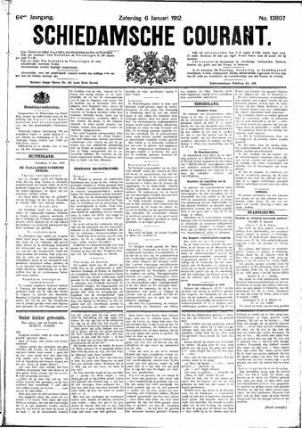 Schiedamsche Courant 1912-01-06