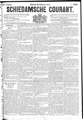Schiedamsche Courant 1908-02-25