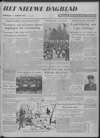 Nieuwe Schiedamsche Courant 1961-01-11