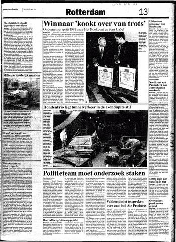 Rotterdamsch Nieuwsblad / Schiedamsche Courant / Rotterdams Dagblad / Waterweg / Algemeen Dagblad 1991-04-20