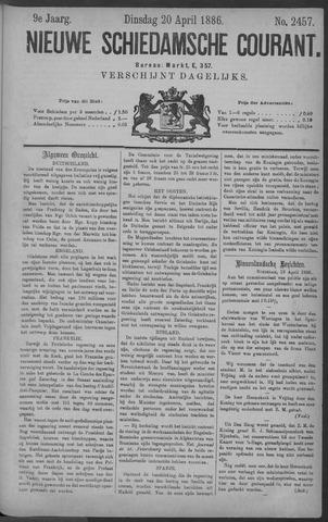 Nieuwe Schiedamsche Courant 1886-04-20