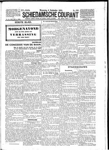 Schiedamsche Courant 1935-09-04