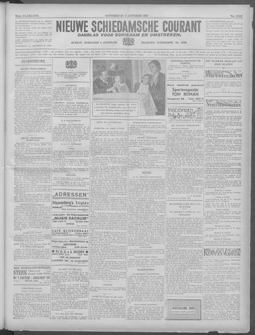 Nieuwe Schiedamsche Courant 1933-10-05
