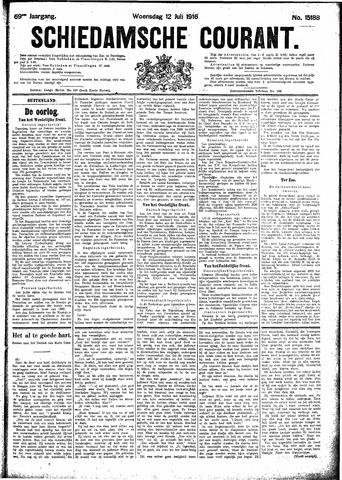 Schiedamsche Courant 1916-07-12