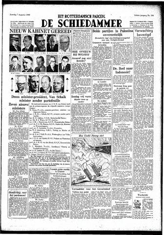 Rotterdamsch Parool / De Schiedammer 1948-08-07