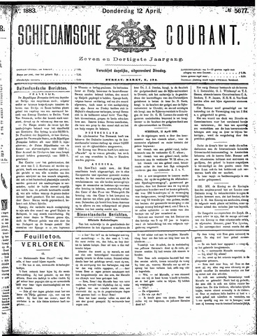 Schiedamsche Courant 1883-04-12
