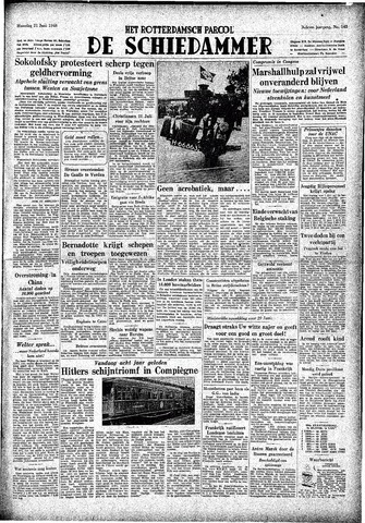 Rotterdamsch Parool / De Schiedammer 1948-06-21