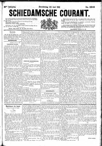 Schiedamsche Courant 1912-06-20