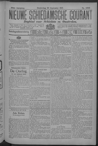 Nieuwe Schiedamsche Courant 1917-09-20