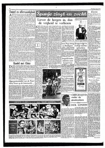 Rotterdamsch Parool / De Schiedammer 1957-06-01