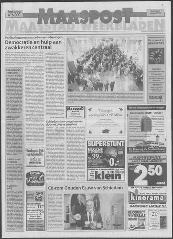 Maaspost / Maasstad / Maasstad Pers 1998-01-07