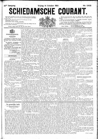 Schiedamsche Courant 1910-10-14