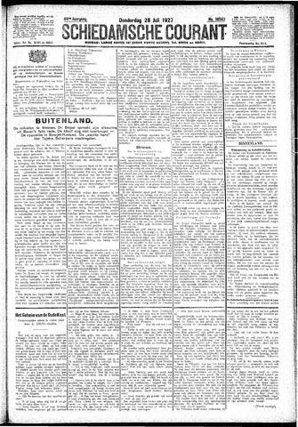 Schiedamsche Courant 1927-07-28