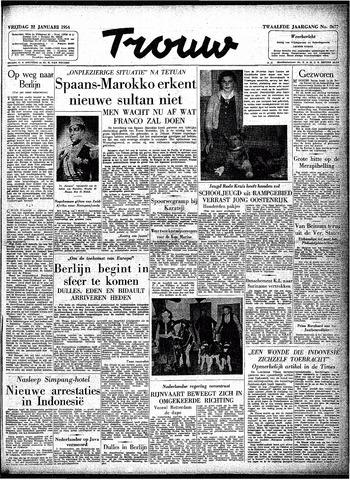 Trouw / De Rotterdammer 1954-01-22