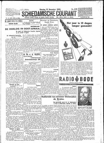 Schiedamsche Courant 1935-12-31