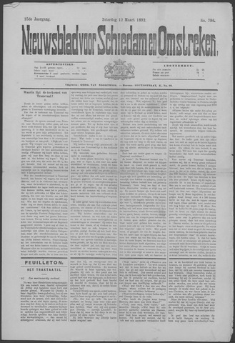 Nieuwsblad voor Schiedam en Omstreken 1892-03-12