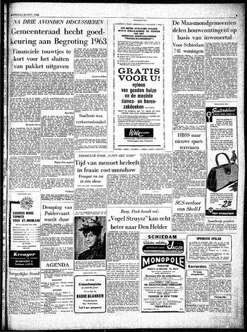 Rotterdamsch Parool / De Schiedammer 1962-11-28