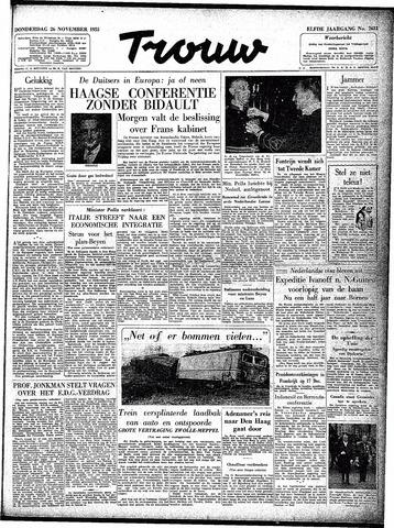 Trouw / De Rotterdammer 1953-11-26