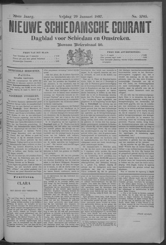 Nieuwe Schiedamsche Courant 1897-01-29