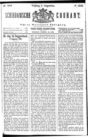 Schiedamsche Courant 1881-08-05