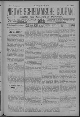 Nieuwe Schiedamsche Courant 1918-07-15