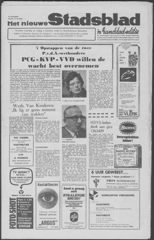 Het Nieuwe Stadsblad 1970-05-29