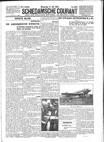Schiedamsche Courant 1935-07-17
