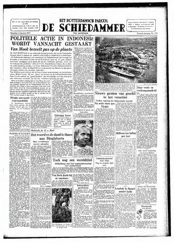 Rotterdamsch Parool / De Schiedammer 1947-08-04