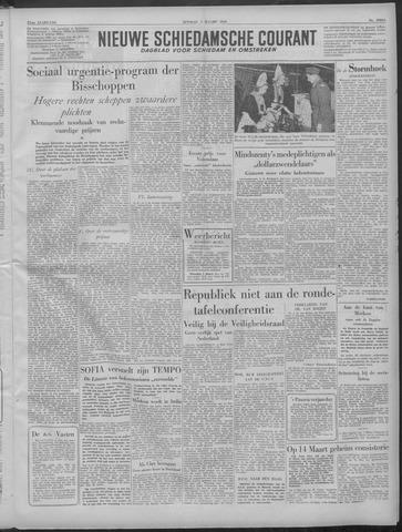 Nieuwe Schiedamsche Courant 1949-03-01