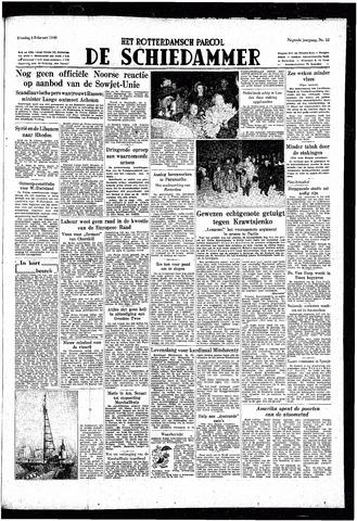 Rotterdamsch Parool / De Schiedammer 1949-02-08