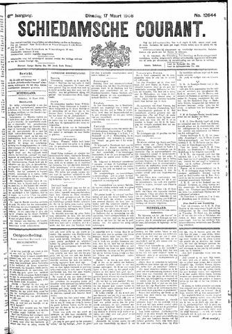 Schiedamsche Courant 1908-03-17
