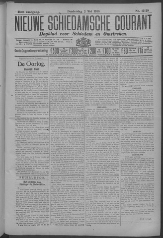 Nieuwe Schiedamsche Courant 1918-05-02